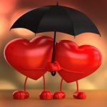 خلفيات قلوب رومانسية 2019 رمزيات حب وقلوب