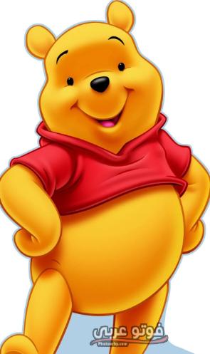 الدب الاصفر كرتون