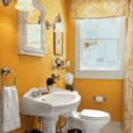تصميمات جميلة لحمامات ضيقة .ديكورات حمامات صغيرة 2019
