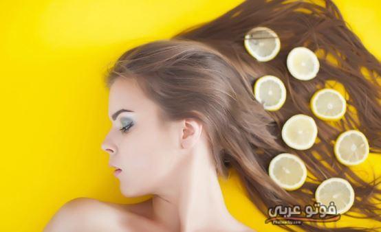 علاج قشرة الشعر الدهني بالليمون بالمنزل