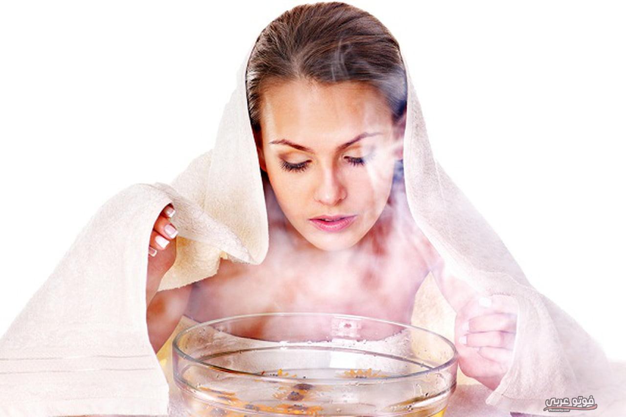 فوائد بخار الماء للوجه والبشرة الدهنية