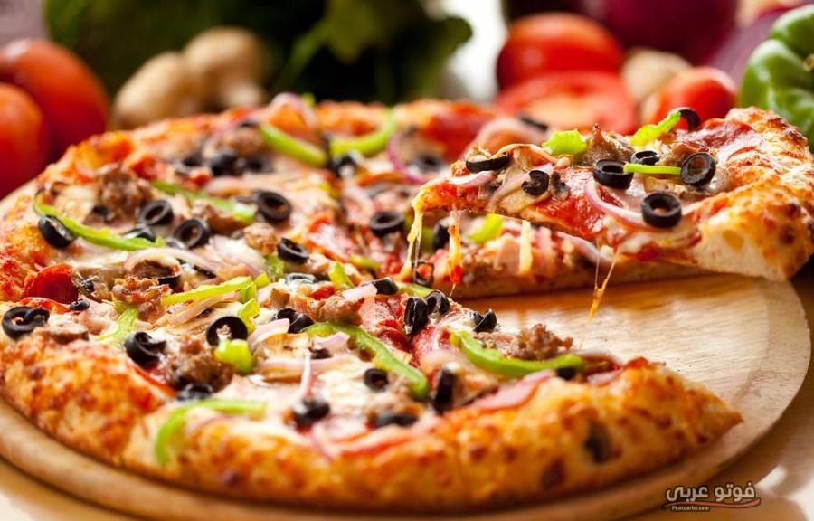 طريقة تحضير بيتزا حارة بسهولة