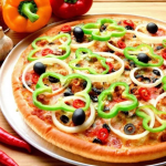 طريقة عمل البيتزا بالخضروات لذيذة