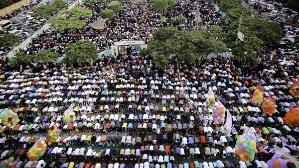 موعد صلاة العيد في الاسكندرية