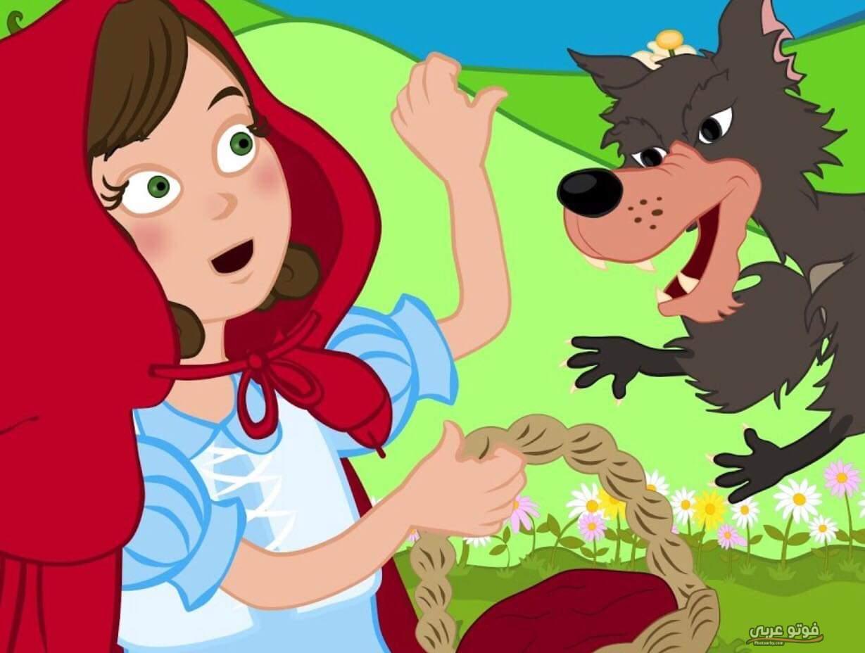 قصة ليلى و الذئب مختصرة للاطفال