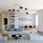 صور ديكورات منازل مودرن انيقة وعصرية 2020