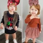 صور ملابس شتاء أطفال بنات 2020