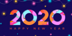 أحدث خلفيات العام الجديد رأس السنة الميلادية 2020