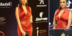 مي عمر بالصور في مهرجان القاهرة السينمائي 2020