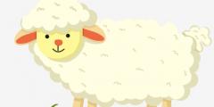 صور وخلفيات خروف العيد ملونة 2020 خرفان العيد الكبير