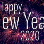 صور كروت وبطاقات تهنئة بالعام الجديد 2020 happy new year