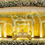 صور وتصاميم كوشات أفراح كريستال للعروس 2020