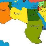 خريطة العالم الاسلامي والعربي صماء صور