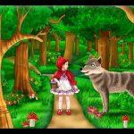 قصة ليلي والذئب مختصرة للأطفال